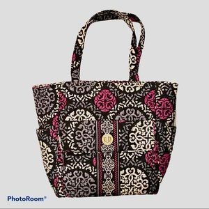 NWOT Vera Bradley Large Tablet Tote Canterberry